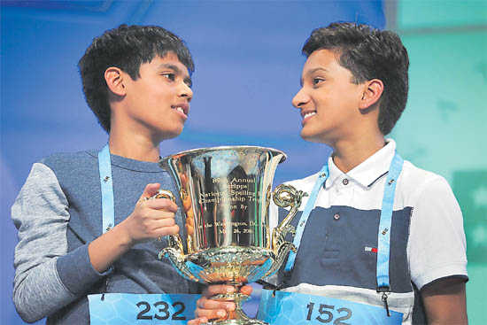 2 Indian-Americans win US Spelling Bee contest