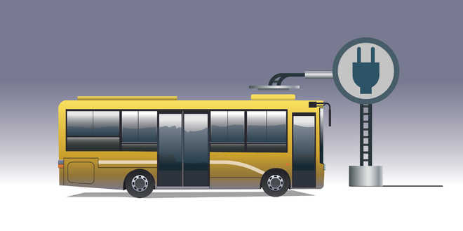 Pollution on mind, UT plans electric buses