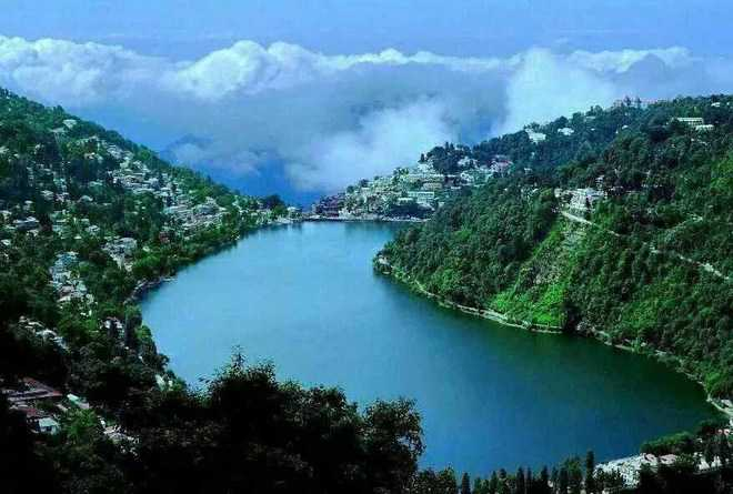 glow returns to naini lake after removal of silt