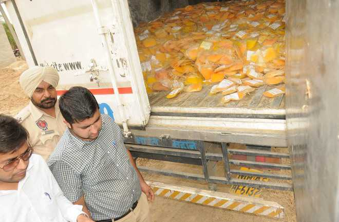 21,000 units of blood plasma seized; 3 held