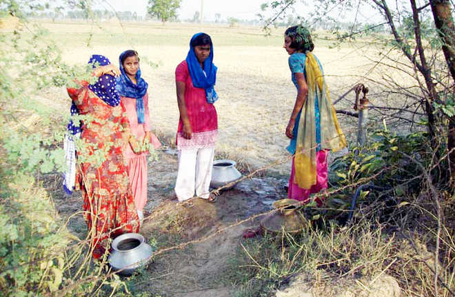 Kaithal village faces acute water shortage