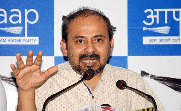 BJP created illegal posts in Delhi civic bodies: AAP