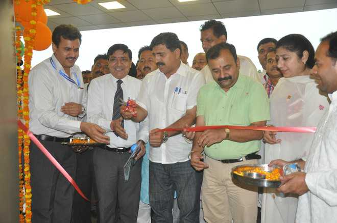 Jammu airport's spruced-up arrival lounge opens