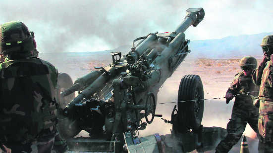 Artillery gun purchase first 'baby step' towards meeting Army's needs