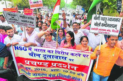 On NSG, India rubbed China wrong way