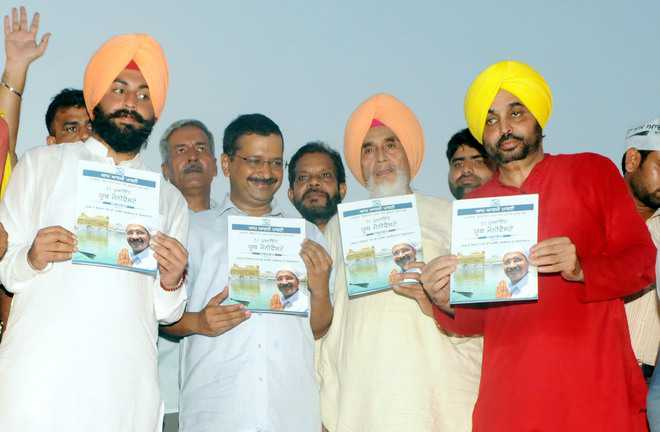 AAP's 51-point youth manifesto out