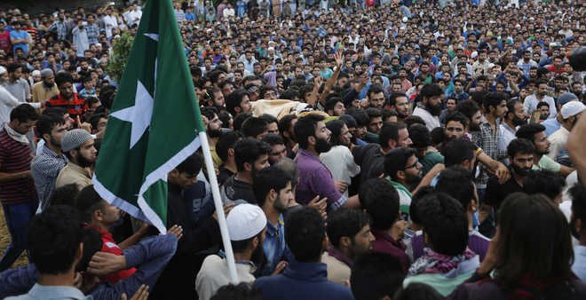 Two lakh across Valley attend Burhan Wani's funeral