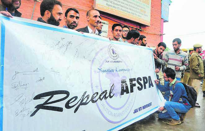 Why is AFSPA under constant attack?