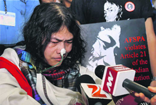 Irom Sharmila to end her fast of 16 years; will fight polls