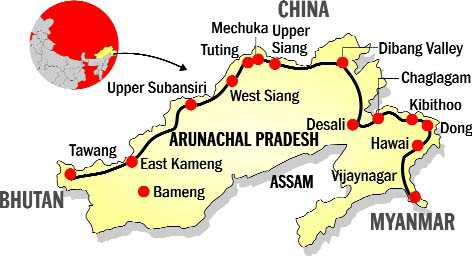 MoD clears key road along China after fresh alignment