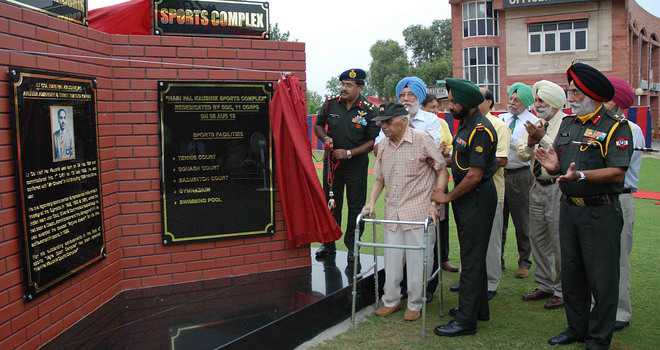 Army dedicates landmarks in city to war heroes
