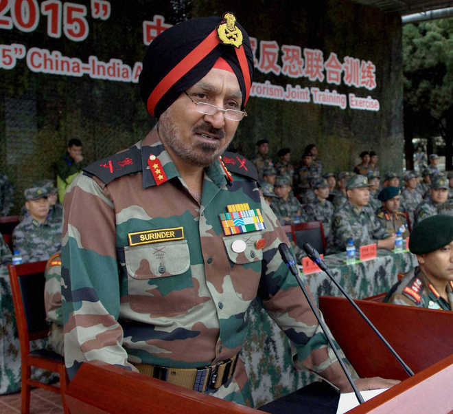 Lt Gen Surinder Singh to be Western Army Commander