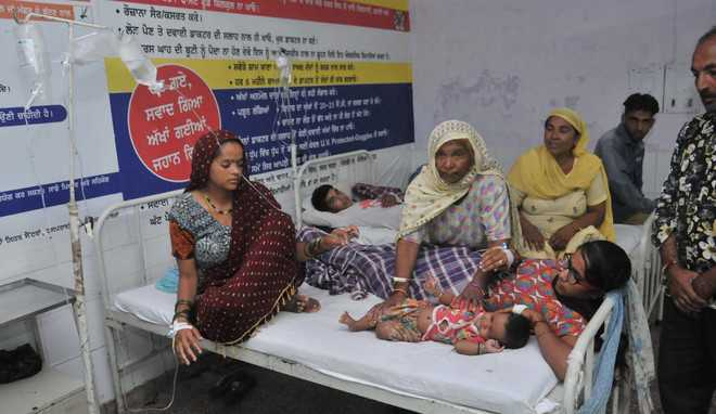 Dengue, gastro ailments keep health officials on their toes