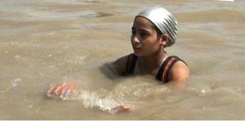 11-yr-old to swim 550 km in raging Ganga