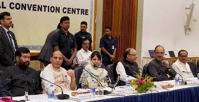 Engage people of Kashmir in talks, Congress, NC tell all-party team