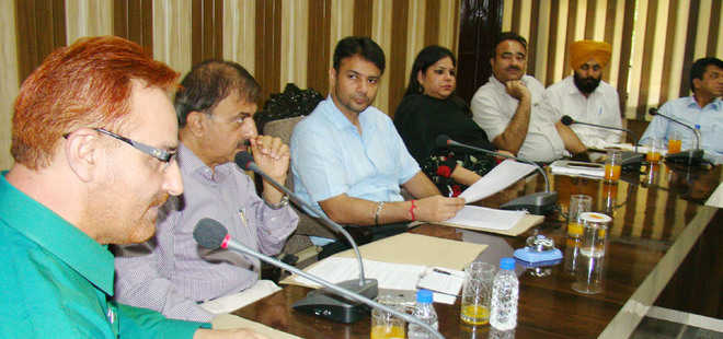 DC chairs meeting of dengue task force