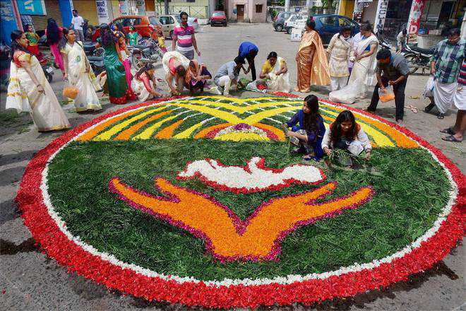 RSS questions legend behind Onam