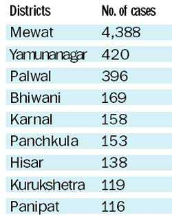 6,581 malaria cases reported so far; Mewat badly affected