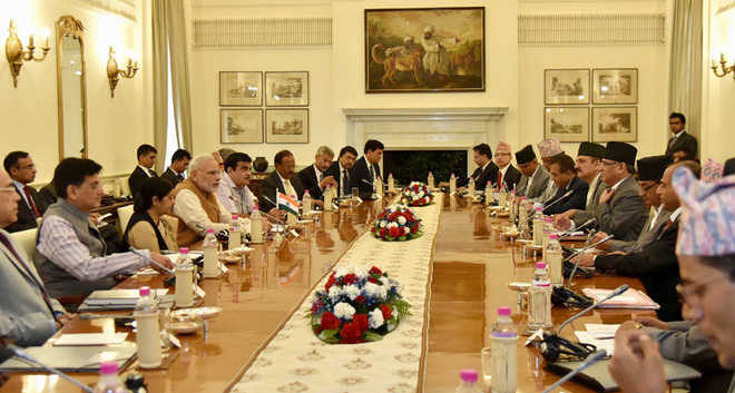 India pitches for an 'accommodating' Constitution in Nepal