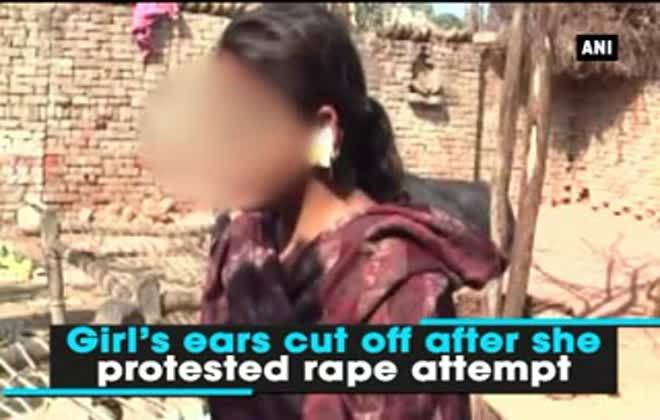 Girl's ears cut off after she protested rape attempt