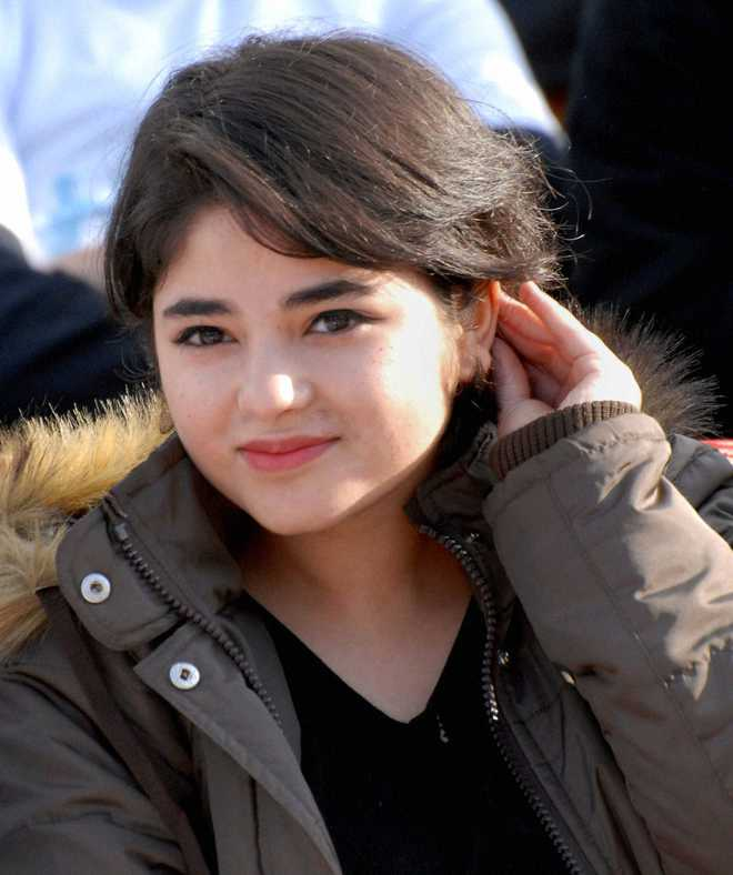 Story Of A Kashmiri S Girl By: Dangal Girl Zaira Wasim Not Pleased With Sports Minister
