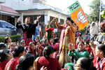 Dhanaulti MLA's supporters protest ticket to Rajnath's relative