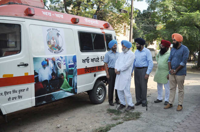 Mobile dispensary in Dakha from today