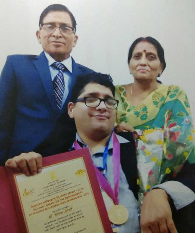 National award for mother of city disability activist