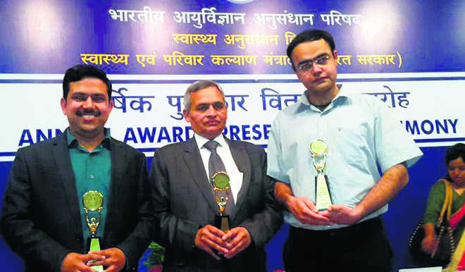 PGI docs bring laurels to institute