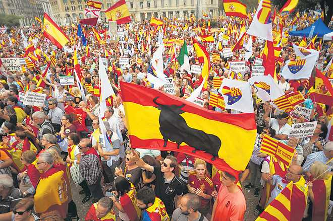 Catalonia — not yet independent