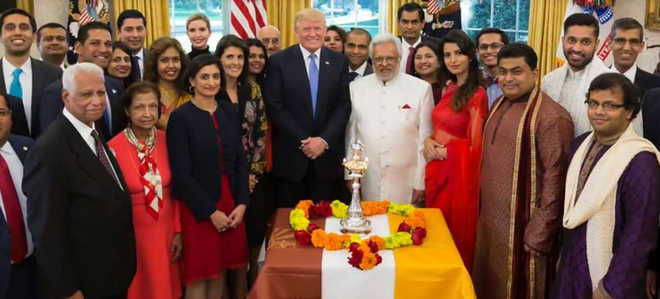 Trump celebrates Diwali at White House, hails Indian-Americans