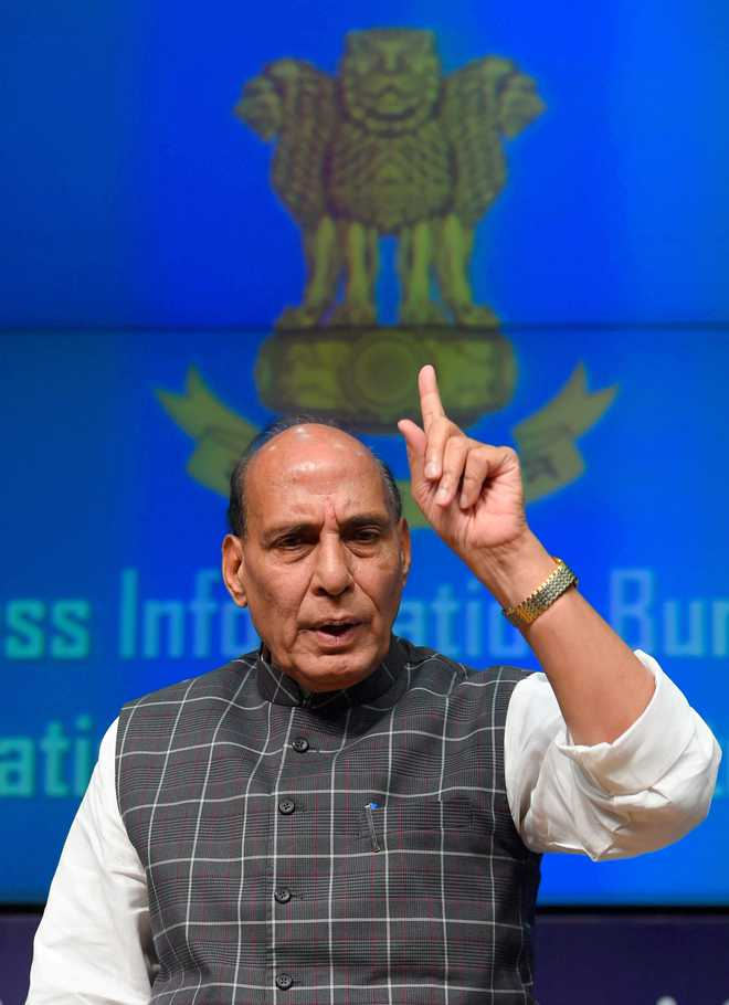 More than 100 Sikhs removed from blacklist: Rajnath Singh