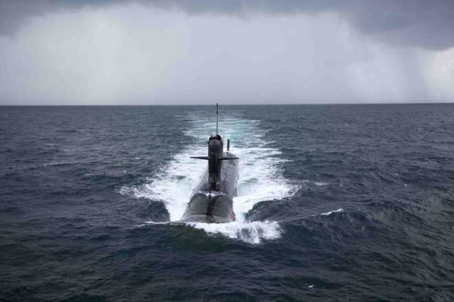 Lanba asks Navy to remain outcome oriented at sea and ashore