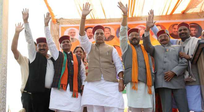 State failed to use Central funds: Rajnath