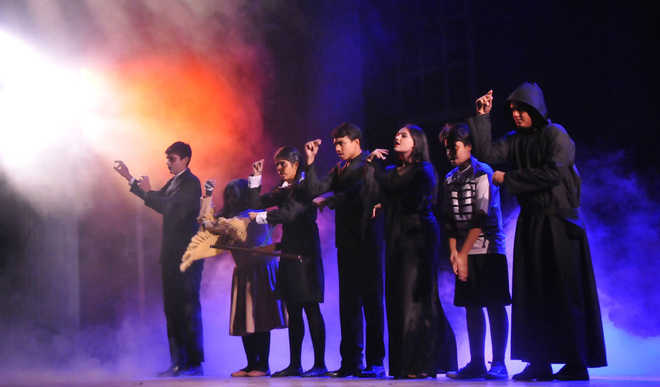 Over 110 Vivek High students bring to life  The Addams family