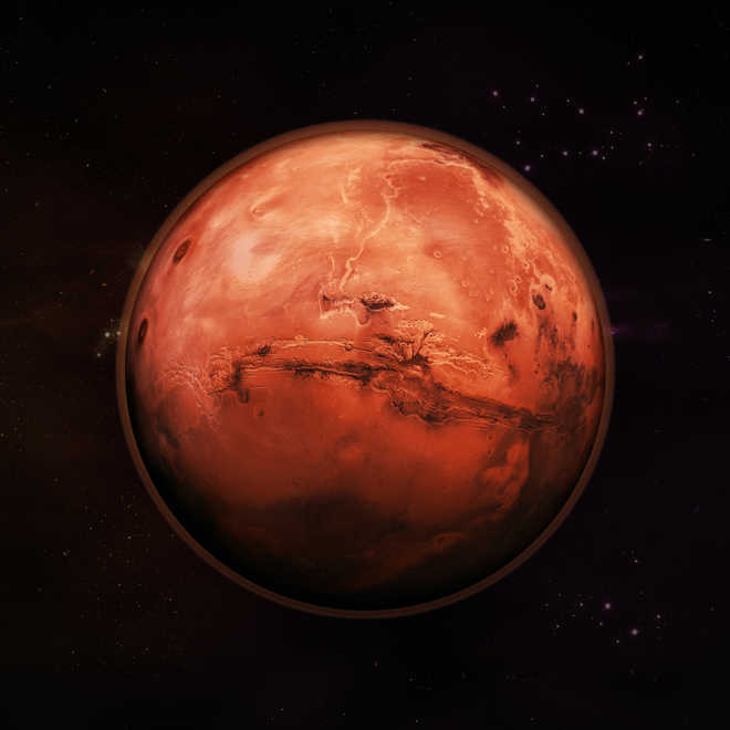 Aliens on Mars? UFO HQ 'found' on Red Planet