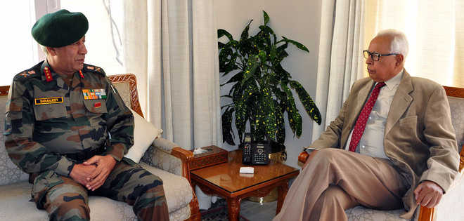 Governor briefed on situation along LoC