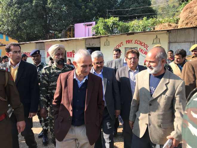 Dineshwar Sharma meets militancy-affected families of Jammu region