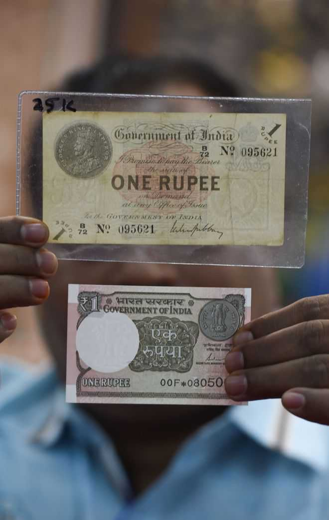 Re 1 note completes 100 years