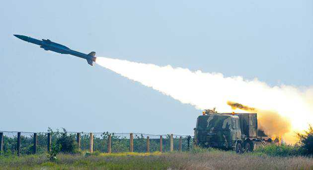 Akash surface-to-air missile successfully testfired