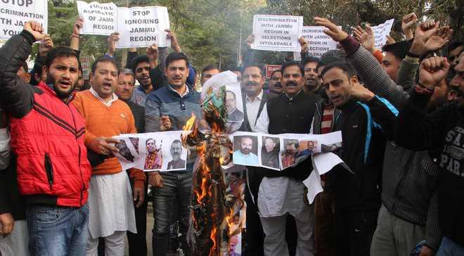 Junior assistant posts: Govt faces flak over 'injustice' with Jammu, Ladakh