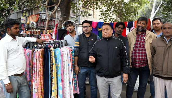 Roadside vendors go for composition scheme