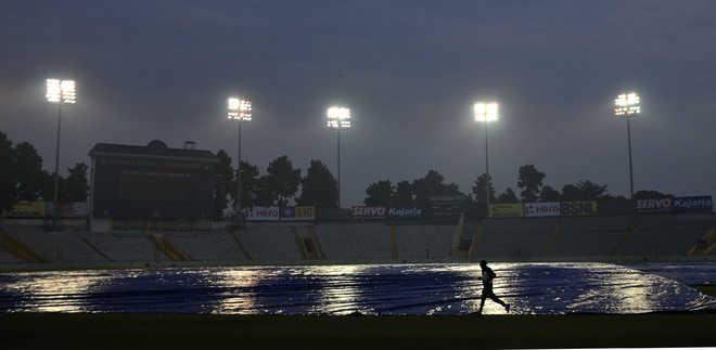 India-Lanka ODI at Mohali under cloud