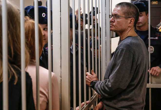 Former Russian minister jailed for 8 years over $2 million bribe