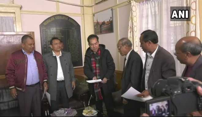 8 MLAs, including 5 from Congress, resign from Meghalaya Assembly