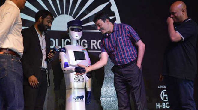 India's first 'Robocop' launched in Hyderabad