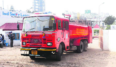 Goods worth Rs 10 crore perish in pharma plant fire