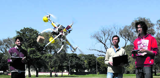 PEC team wins drone-making competition