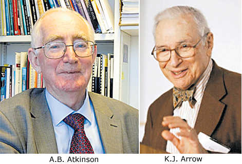 A salute to great economists