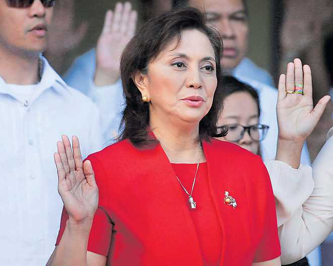 Philippine VP in trouble over drug war